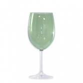 Roma Goblet Glass Moss Green 16oz