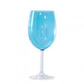 Roma Goblet Glass Turquoise 16oz