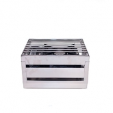 Crate Stainless Display 1/2 Grill 14.5