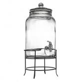Glass Beverage Dispenser 384oz