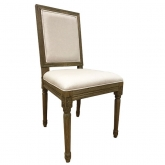 Louis Square Back Chair