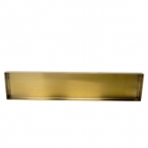 Edge Rectangle Gold Tray 20