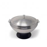 Vintage Chafer Pot Round 6qt