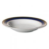 Cobalt Gold Soup Plate 9