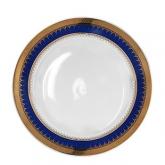 Cobalt Gold Dinner Plate 10
