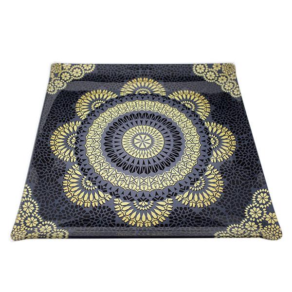 Vogue Orient Black Tray 14
