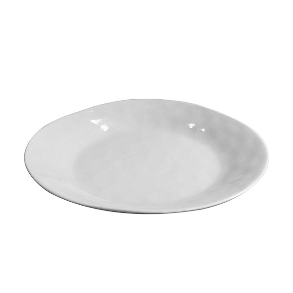 Cleo White Entree Plate 10.5