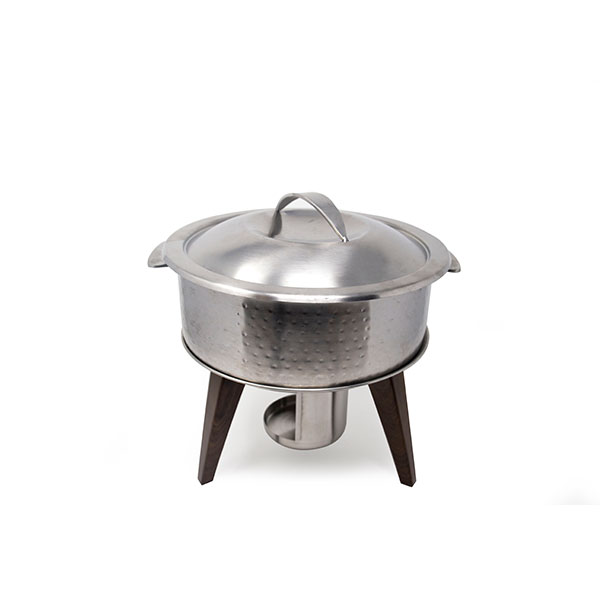 Hammered Stainless Chafing Pot 3Qt