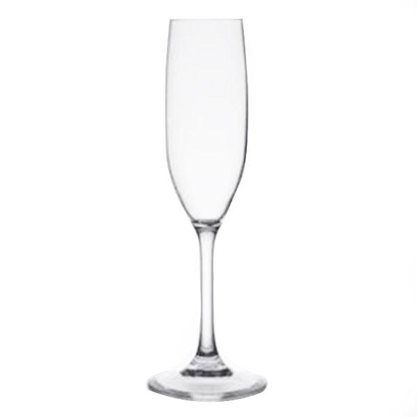 Acrylic Flute Glass 6.5oz
